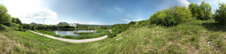 Панорама Железноводского озера