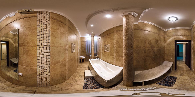Панорама минеральных ванн санатория Буковая роща