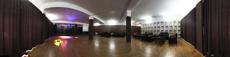 Панорама танцевального зала санатория Бештау