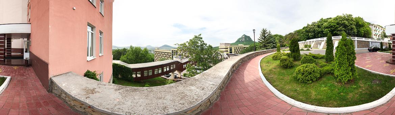 Панорама санатория Горный Воздух