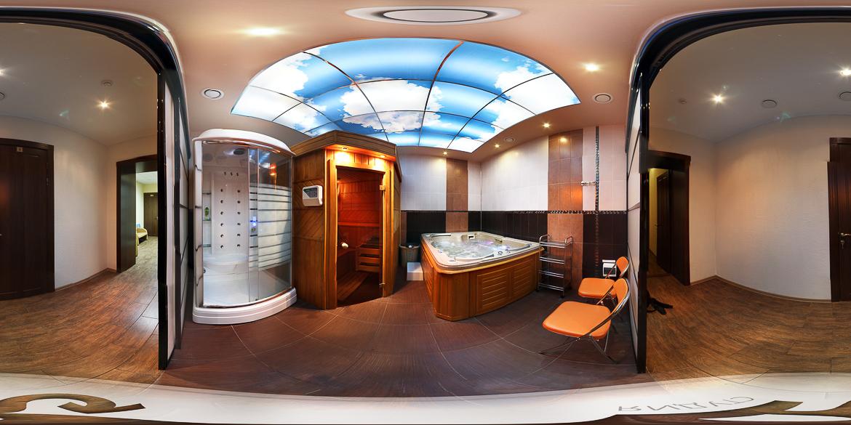 3Д панорама джакузи гостевого дома Княжна Мери