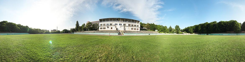 Сферическая панорама футбольного поля