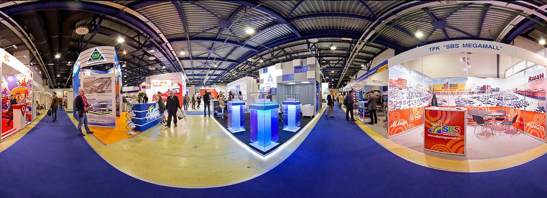 Панорама выставки REX 2013