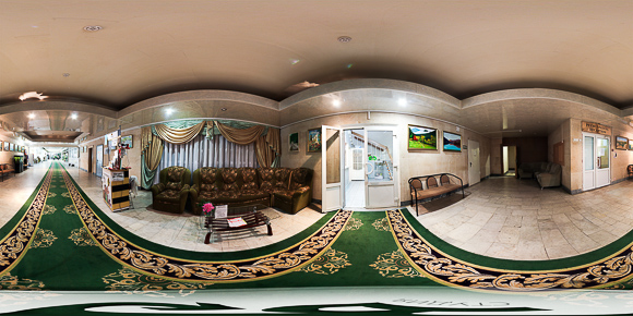 Панорама холла санатория им. Тельмана