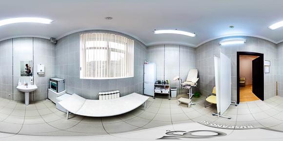 Сферическая панорама гинекологического кабинета санатория