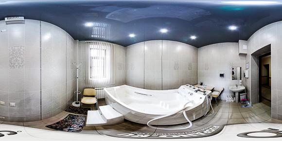 Панорама минеральной ванны санатория