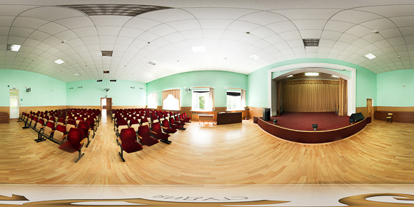 Панорама кинозала санатория Салют Железноводск