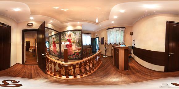 Панорама прихожей гостевого дома Княжна Мери