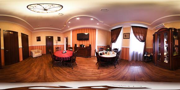 Сферическая панорама гостинной