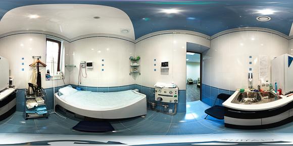 Панорама лечебного кабинета гостевого дома Княжна Мери