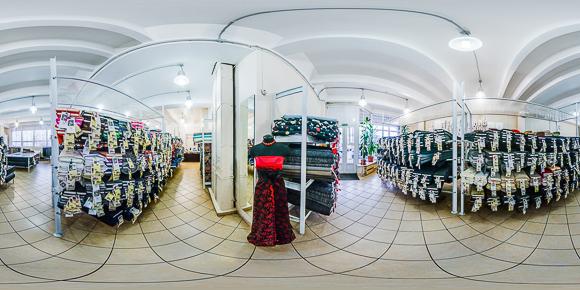 Панорама магазина Мерный Лоскут