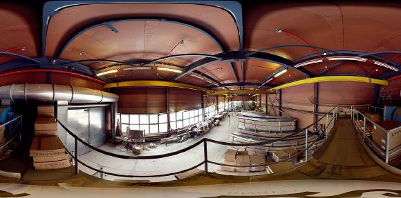 Панорама склада 3D
